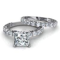 Silver Princess Stone Ring