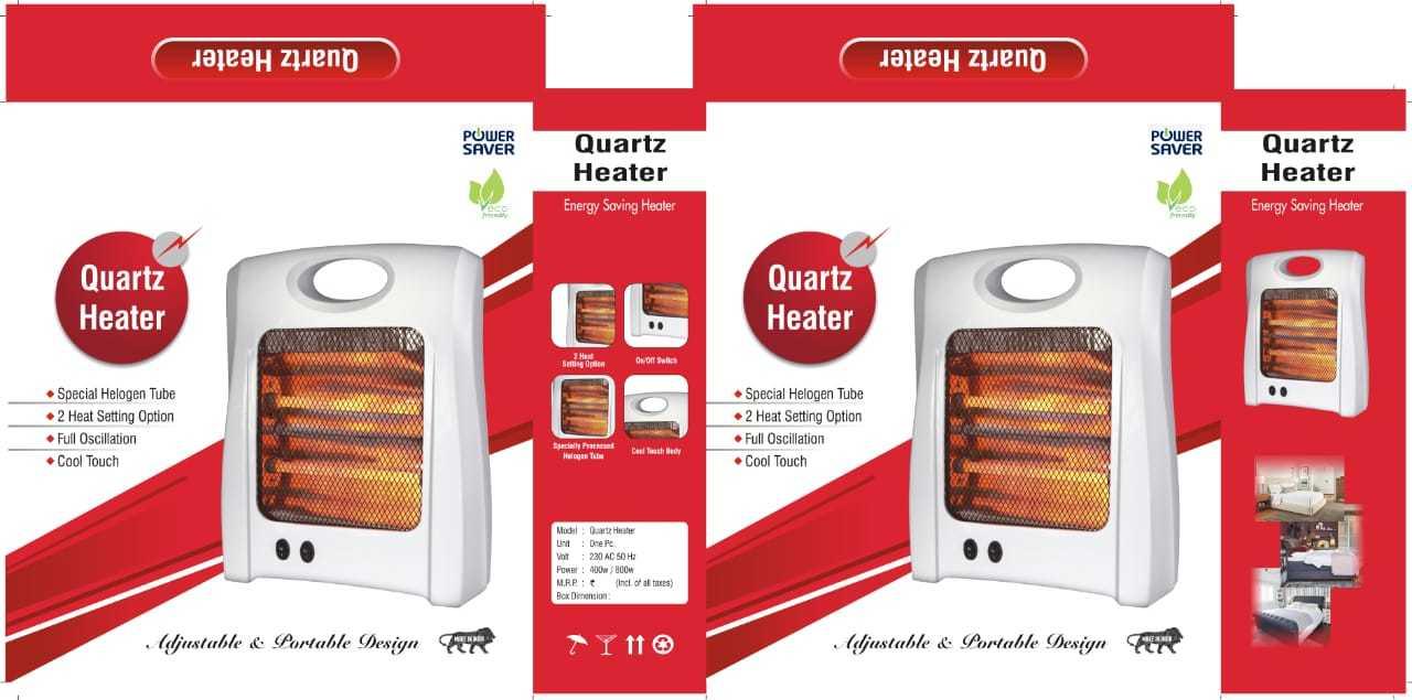 Quartz Room Heater