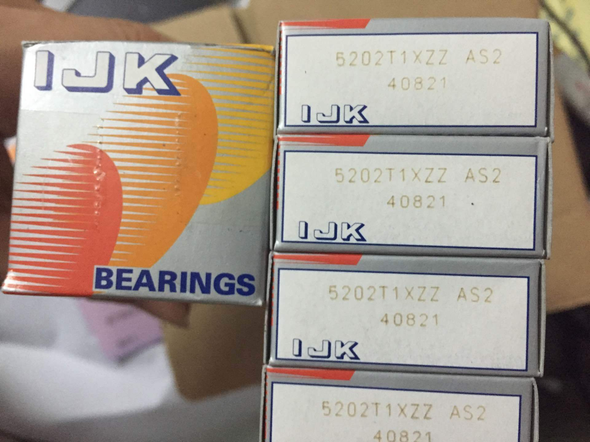 IJK Double Row Angular Contact  Ball Bearing 5203ZZ