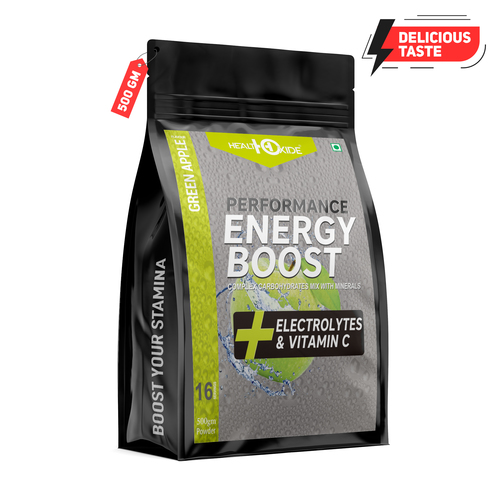 500 Gm Green Apple Flavour Energy Boost Powder
