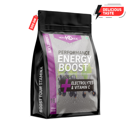 500 Gm Black Current Flavour Energy Boost Powder