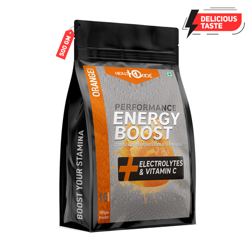 500 Gm Orange Flavour Energy Boost Powder