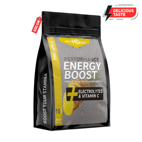 500gm Pine Apple Flavour Energy Boost Powder