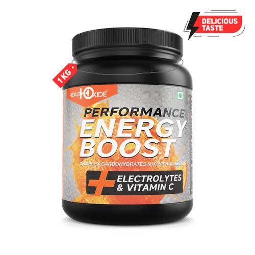 1 Kg Orange Flavour Energy Boost Powder