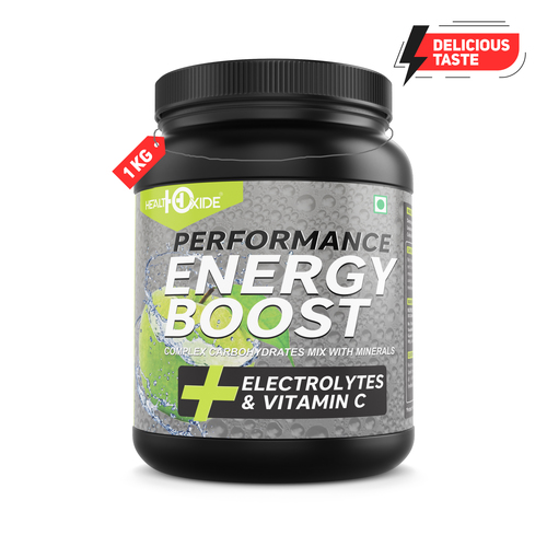 Energy Boost Green Apple Flavour Supplement
