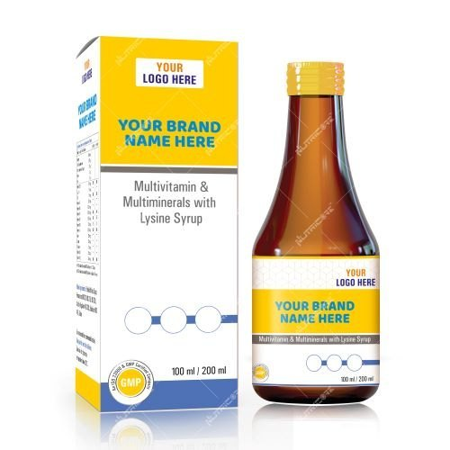 Multivitamin and Multiminerals With Lysine Syrup