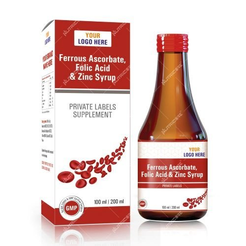 Ferrous Ascorbate-Folic Acid and Zinc Syrup