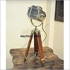 Marine Nautical Tripod Floor LAMP, Nautical Search Light - Vintage Industrial Table LAMP