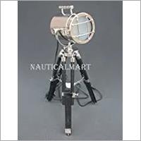 NAUTICALMART Industrial Tripod Desk Lamp Home & Office Lighting Table Lamp Searchlight