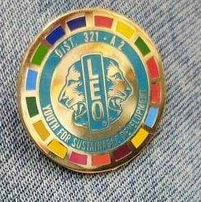 Leo Club Lapel Pin