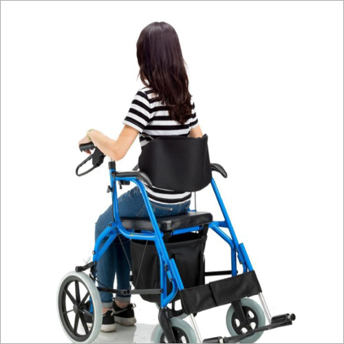 Basket Armrests Caster Rollator