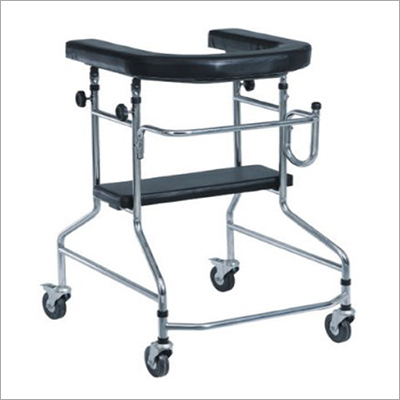 Adjustable Folding Caster Rollator
