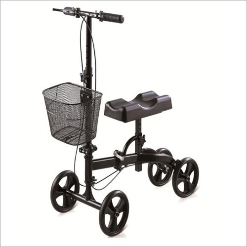 Basket Folding Caster Rollator