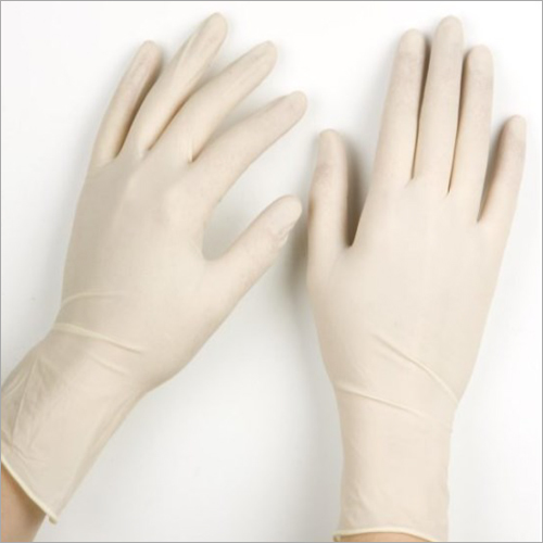 Latex Examination Powdered Gloves