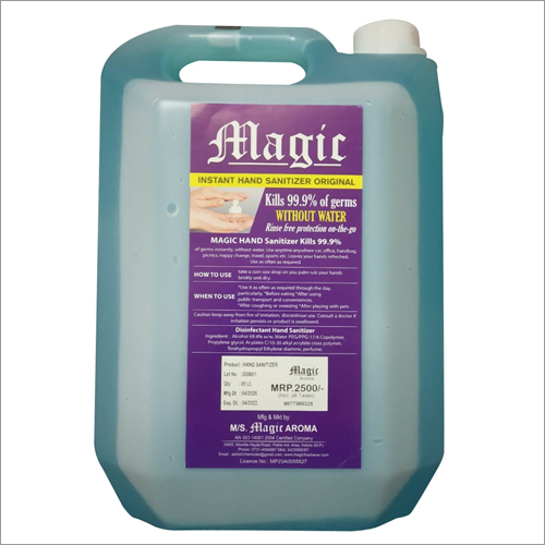 5 liter Liquid Base Sanitizer