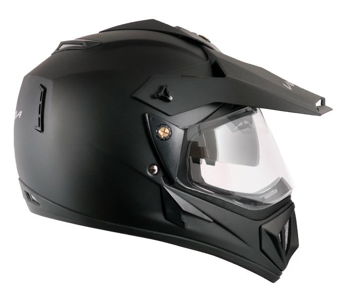 Off Road D/V Dull Black Helmet