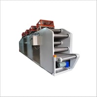 Rubber Cooling BATCH OF MACHINE With Coating and Marking Code Machine