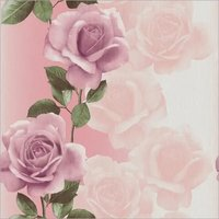 PINK FLOWERS WALL PAPER