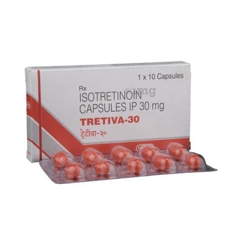 Tretiva 30 Isotretinoin Capsules