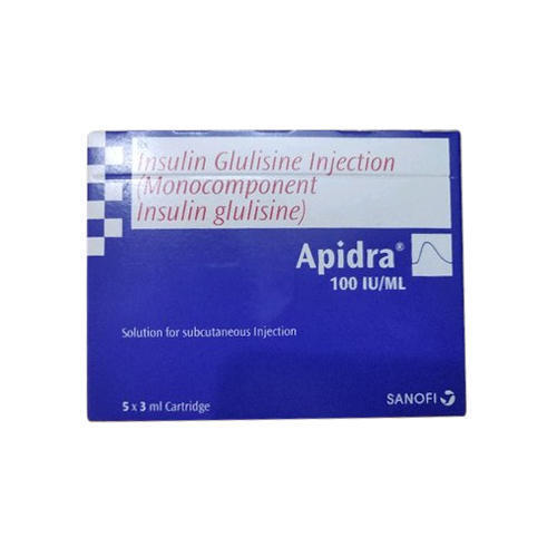 APIDRA 100IU/ML INJECTION