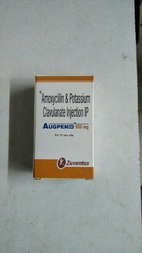 Augpen 600 Mg Amoxicillin Clavulanic Injection