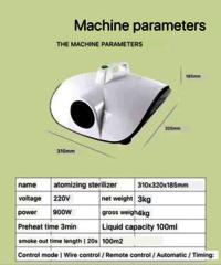 Disinfectant Fumigation Machine