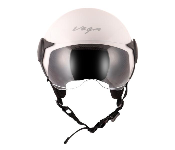 Atom White Helmet