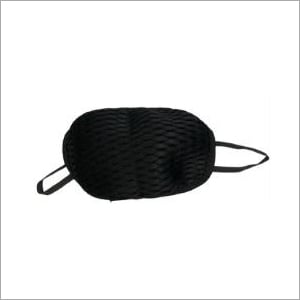Black Cotton Washable Nose Mask 2 Ply