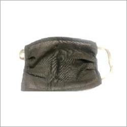 Single Ply Cotton Washable Mask Black
