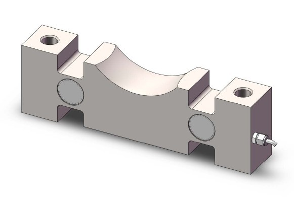 Double End Shear Beam Load Cells