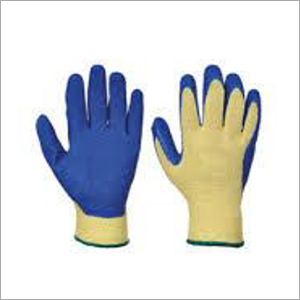 Rubber Dotted Hand Gloves