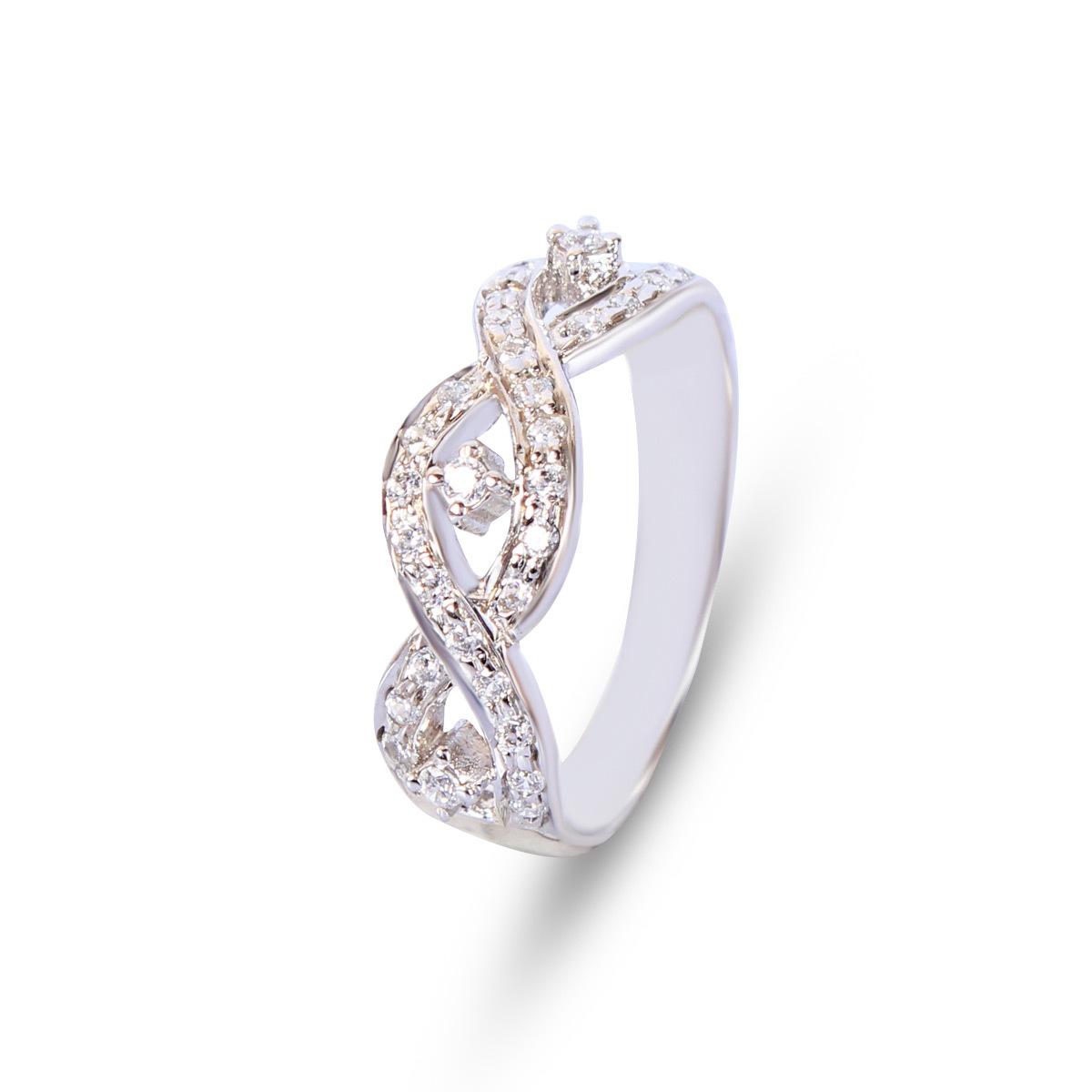 Silver Eternity Rings