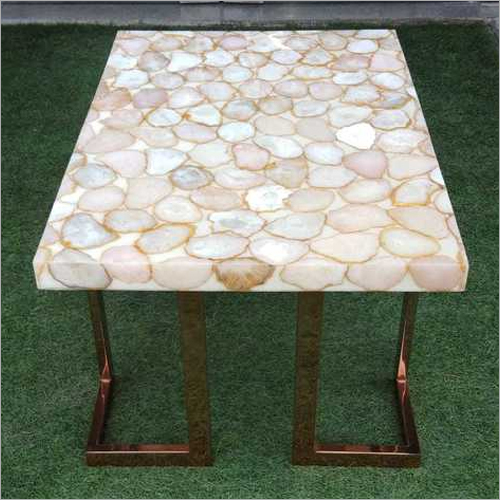 STONE EPOXY TABLE