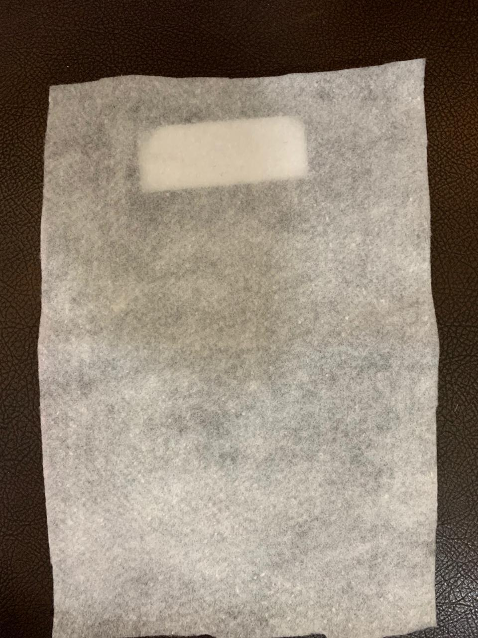 Hot air cotton filter layer N95 mask