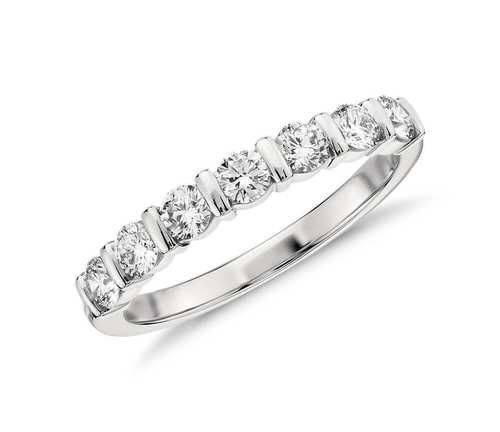 92.5 Sterling Silver Eternity Ring