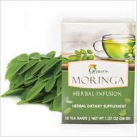 Organic Moringa Leaf Infusion