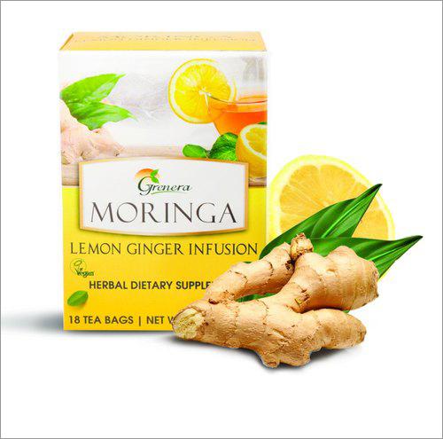 Organic Moringa Lemon Ginger Infusion