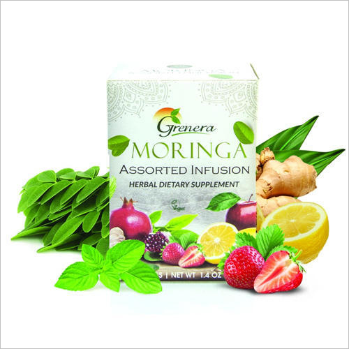 Organic Moringa Herbal Infusion