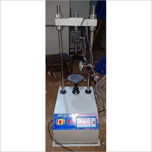 Digital Marshall Stability Test Apparatus