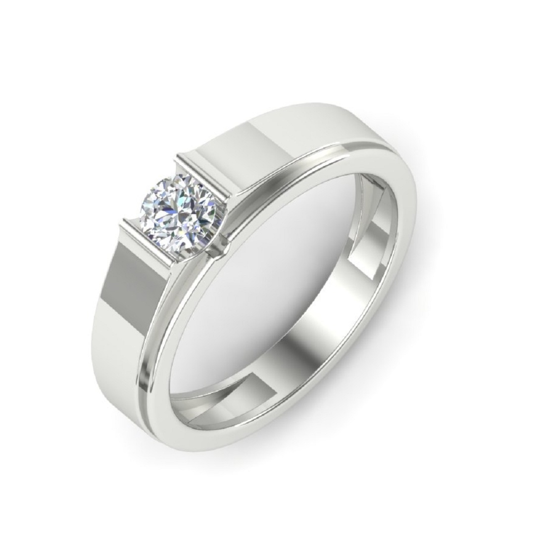 Silver Eternity Bands