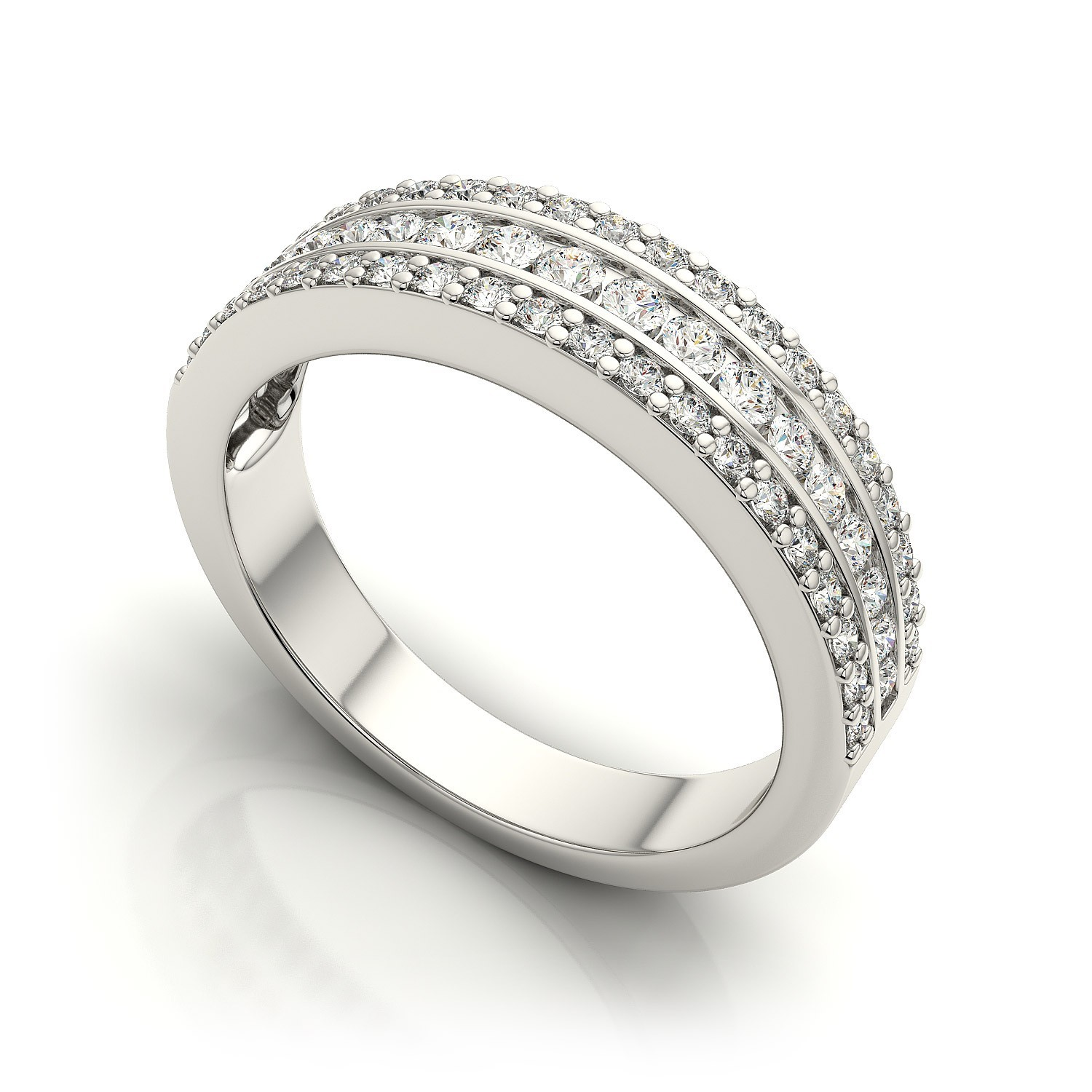 Sterling Silver Eternity Bands