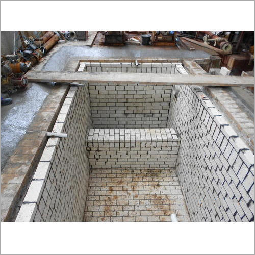 Factory Acid Resistant Tile Lining