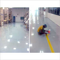 Logistic Godown Epoxy Coating