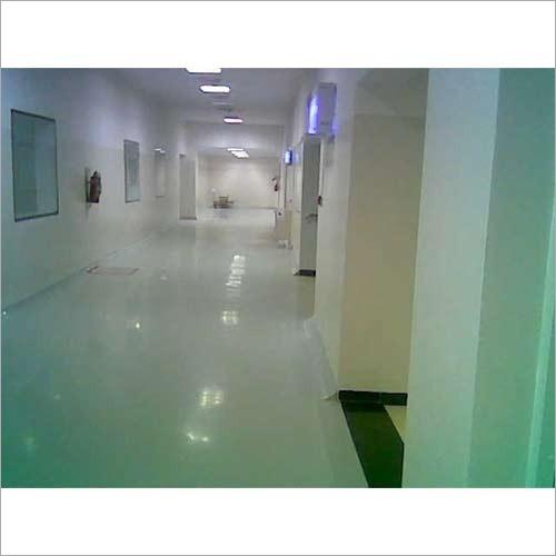 Pharma Unit Corridor Epoxy Coating