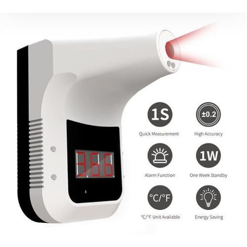 Wall mounting contactless infrared digital thermometer