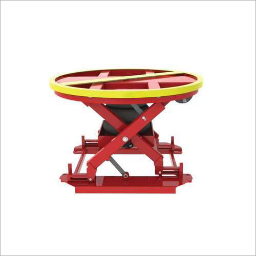 Scissor Lift With Rotary Table