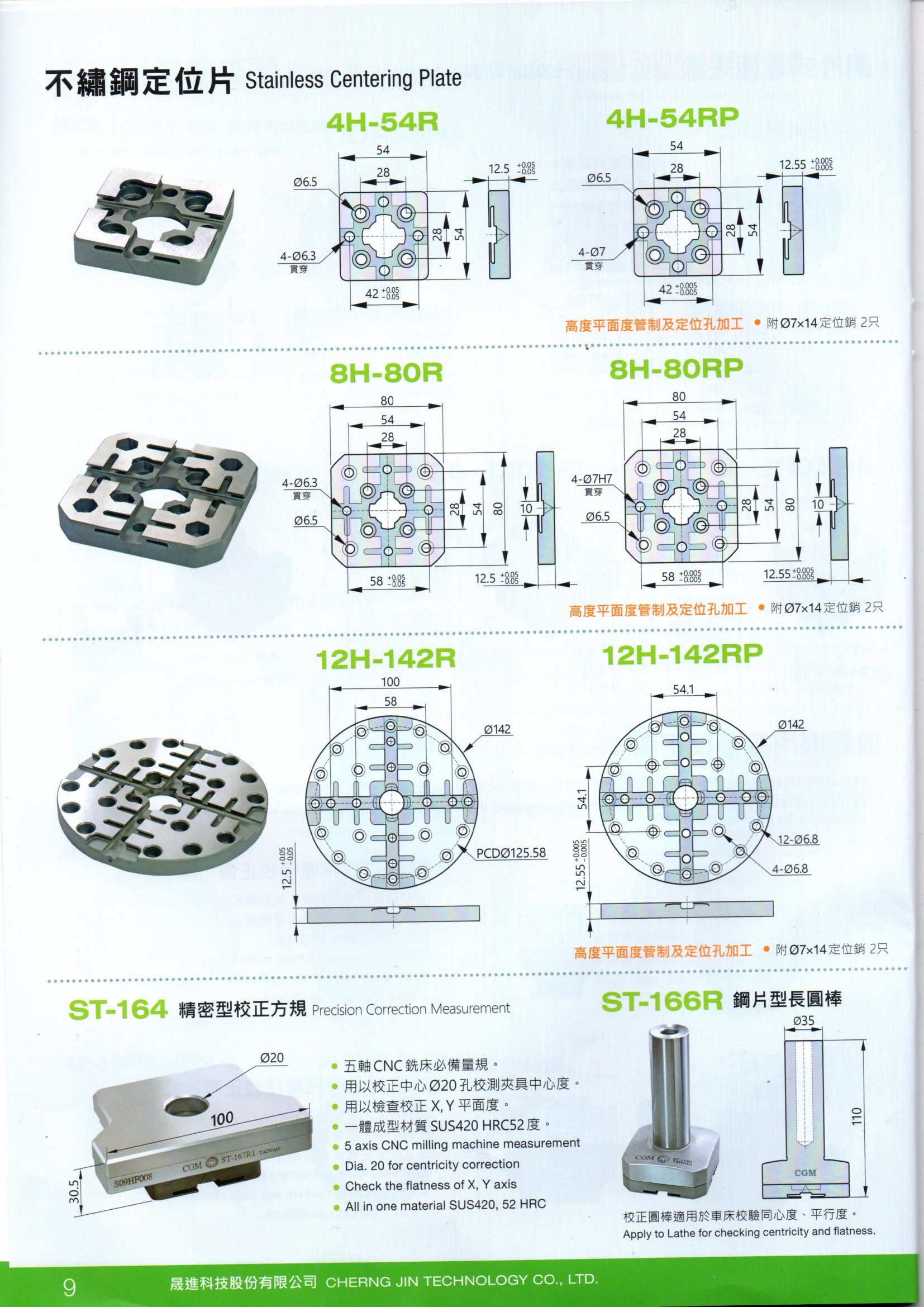 Centering Plate 3R Compatible