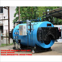 Package Boiler Briquette Fired Pass