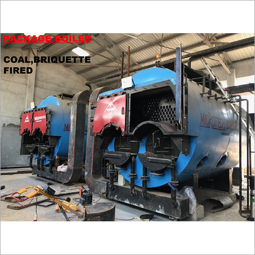 Package Boiler Coal Fired 3 Pass Wet Back