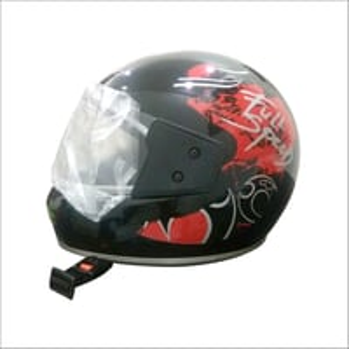 Mens Printed Full Face Helmet